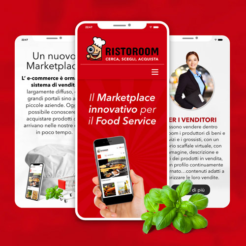 Ristoroom il Marketplace innovativo per il Food Service.